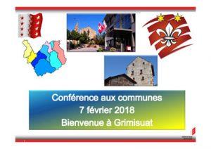 conférence communes 2018